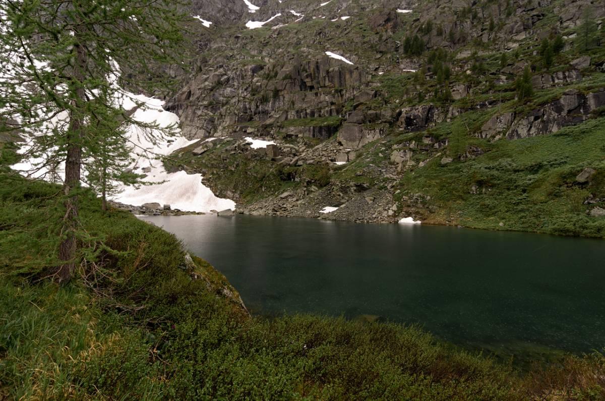 Непогода на Каракольских озёрах