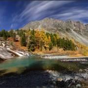 Осенние каскады Йолдо-Айры - Алтай Фото, автор: Аня