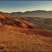 """Марс 1"" на восходе - Алтай Фото, автор: EVM"