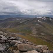 Перевал Тёплый Ключ, вид сверху