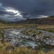 В устье реки Акколь.