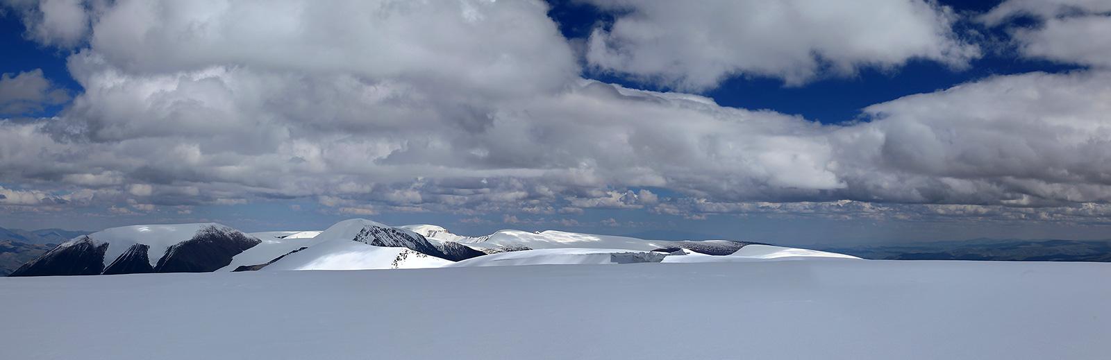 Панорама массива Цамбагарав Уул - Алтай Фото