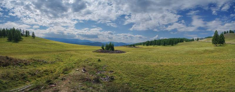Пазырыкские курганы - Алтай Фото