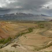 Долина ручья Кызыл-Чин