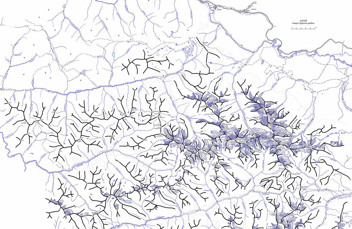 Перевалы Северо-Чуйского хребта